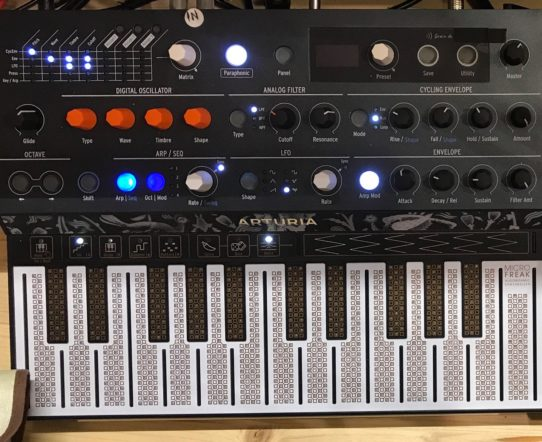 All about: Arturia Microfreak: