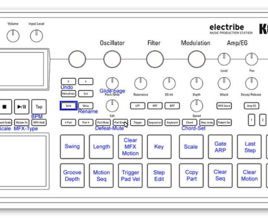 All about: Korg Electribe 2 sample